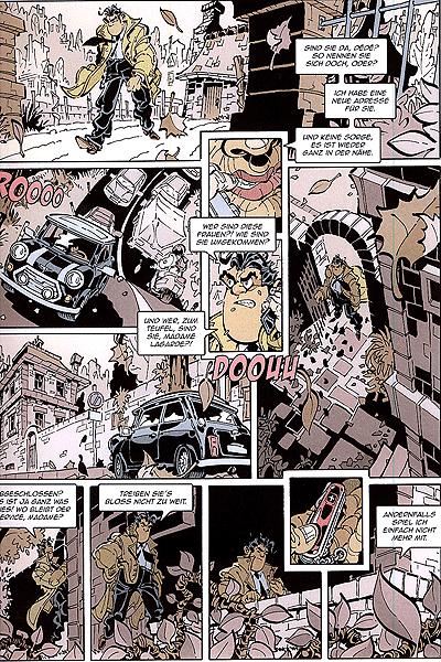 Leseprobe von Dede - Eriks Detektiv Deschamps, Band 1 - Sind Sie tot, Madam?