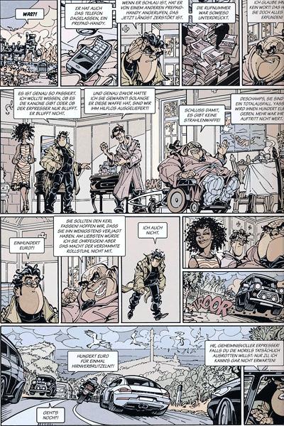 Leseprobe 1 von Dede - Eriks Detektiv Deschamps, Band 5 - Mir platzt gleich der Schädel