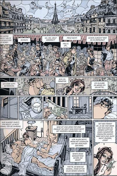 Leseprobe 2 von Dede - Eriks Detektiv Deschamps, Band 5 - Mir platzt gleich der Schädel