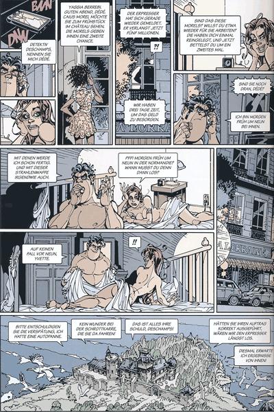 Leseprobe 3 von Dede - Eriks Detektiv Deschamps, Band 5 - Mir platzt gleich der Schädel