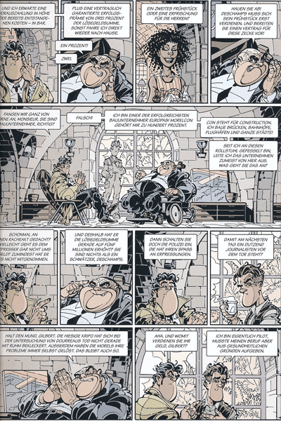 Leseprobe 4 von Dede - Eriks Detektiv Deschamps, Band 5 - Mir platzt gleich der Schädel