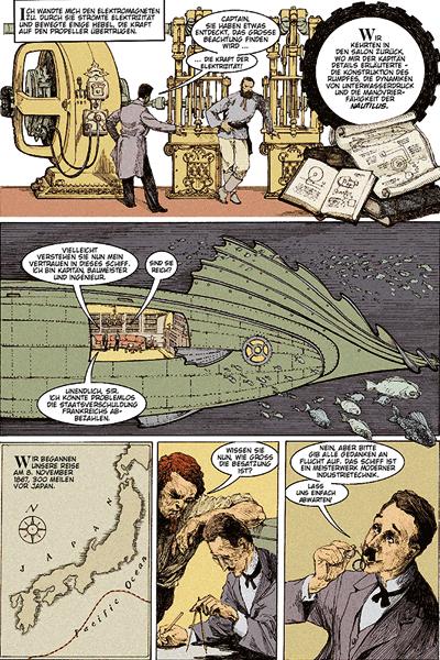 Leseprobe 2 von 20.000 Meilen unter dem Meer [insektenhaus] [comic], Einzelband -
