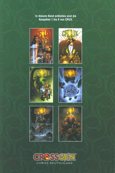 Crux, Sammelband 1 - Sammelband von Band 1 - 6