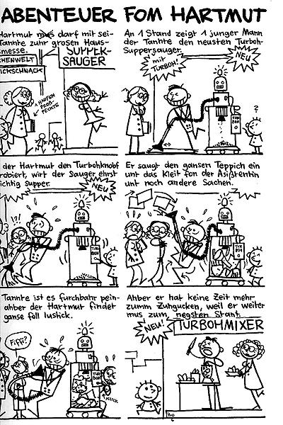 Leseprobe von Hartmut, Band 4 - Der Harmut hat euch alle lihb