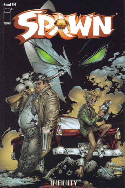 Leseprobe von Spawn [comicstrip], Band 54 - Königreich (Part 1 + 2)