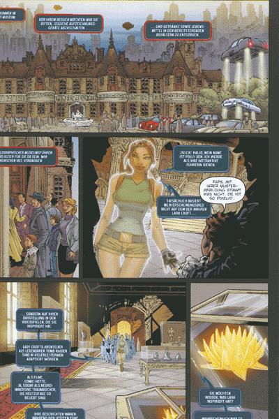 Leseprobe von Tomb Raider, Band 38 - Alpha Omega