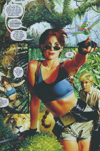 Leseprobe von Tomb Raider: The Greatest Treasure, Variante Cover 1 - The Greatest Treasure of All