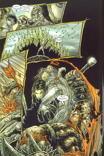 Leseprobe von Spawn: The Dark Ages, Band 13 -