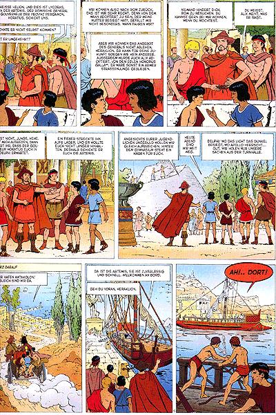 Leseprobe von Alix, Band 19 - Das Trojanische Pferd