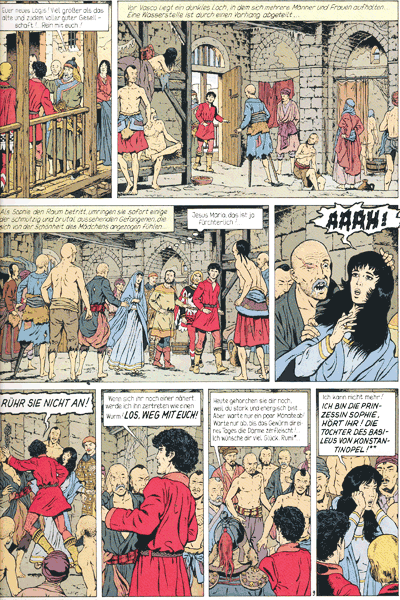 Leseprobe 2 von VASCO, Band 4 - Das Rätsel von Korama