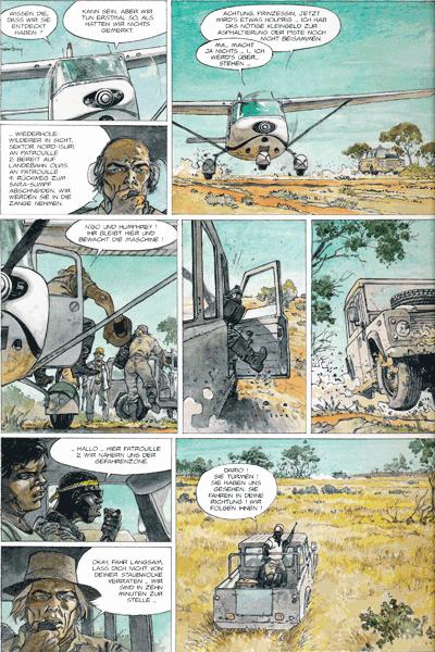 Zweite Leseprobe von AFRIKA, Einzelband -