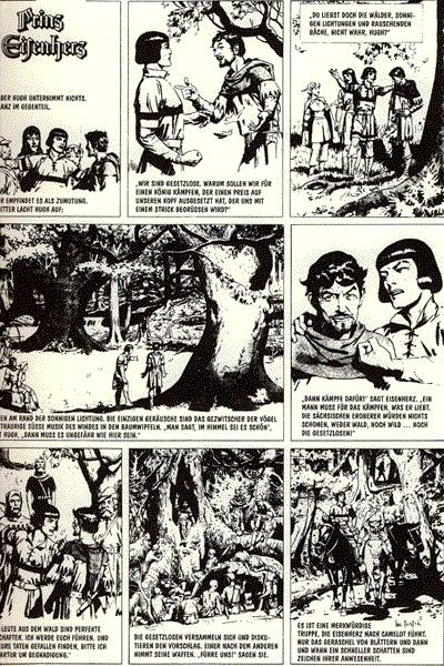 Leseprobe von Prinz Eisenherz, Band 6 - Prinz Eisenherz in der Neuen Welt