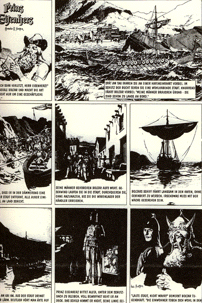 Leseprobe von Prinz Eisenherz, Band 8 - Prinz Eisenherz reitet für Thule