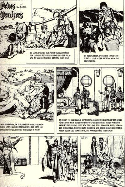 Leseprobe von Prinz Eisenherz, Band 11 - Prinz Eisenherz die Herausforderung