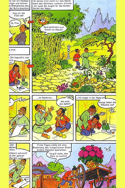 Leseprobe von Mosaik - Sammelband, Band 46 - Im Reich der Mitte