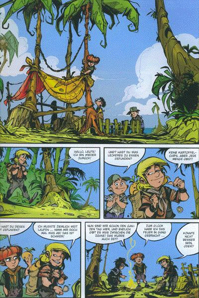 Die Abrafaxe in der Karibik, Einzelband -