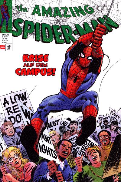 Leseprobe 1 von Spider-Man 07.Jahrgang, Schuber 7 - 1969