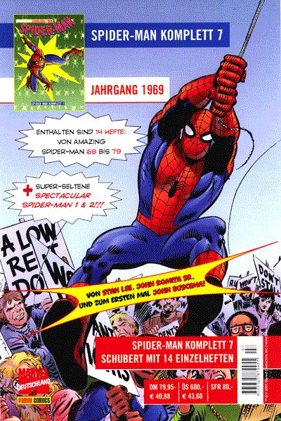 Leseprobe 3 von Spider-Man 07.Jahrgang, Schuber 7 - 1969