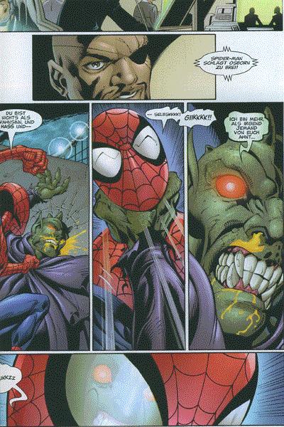 Leseprobe von Der ultimative Spider-Man, Band 14 - Bittere Erfahrungen