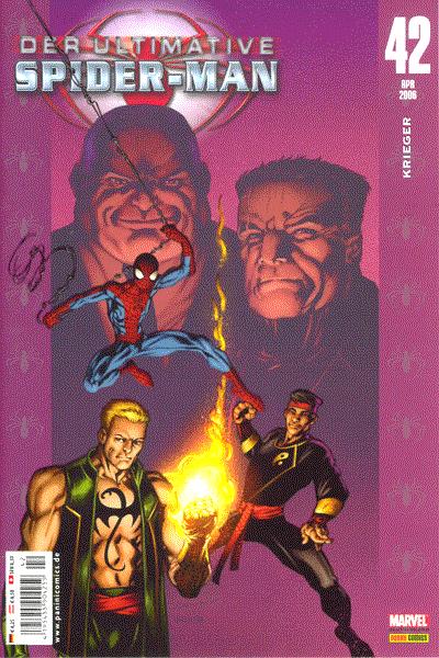 Leseprobe von Der ultimative Spider-Man, Band 42 - Krieger
