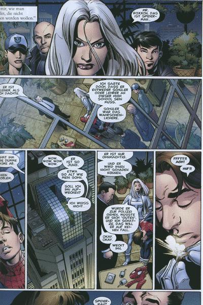 Leseprobe von Der ultimative Spider-Man, Band 47 - Silver Sable (Teil 4 und 5)