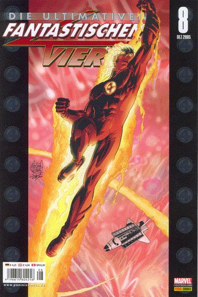 Leseprobe von Die ultimativen Fantastischen Vier, Band 8 - N-Zone (Teil 3 und Kontakt)