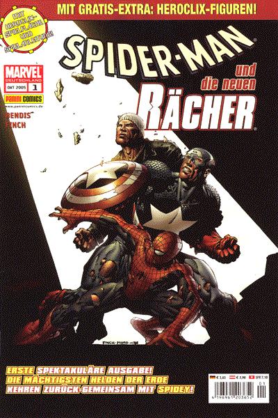 Leseprobe von Spider-Man und die neuen R�cher, Band 1 - Ausbruch (Teil 1 und 2)