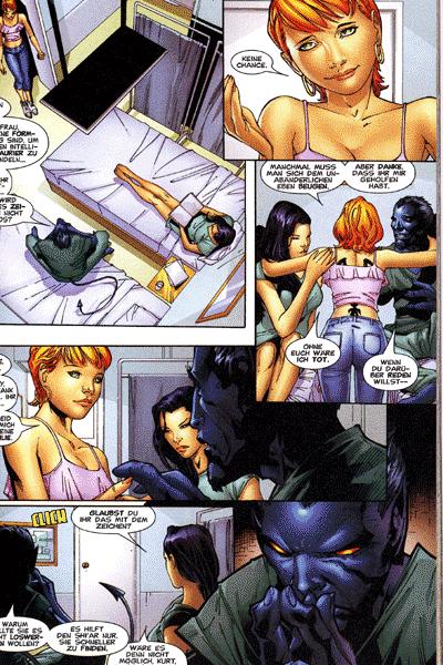 Leseprobe von X-Men, Band 73 - Wandelstern (Teil 1 - 3)