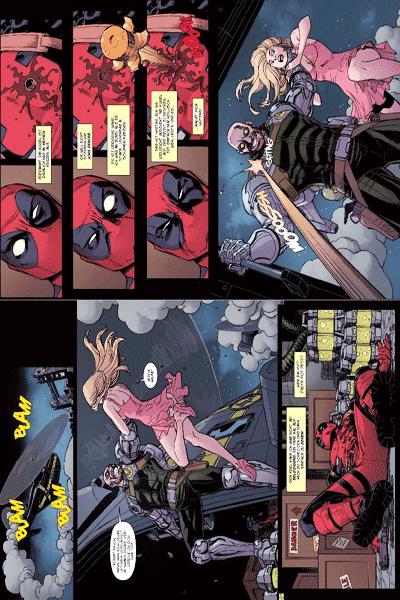 Leseprobe 1 von Deadpool: Draculas Braut, Einzelband -