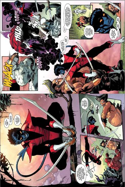 Leseprobe von Amazing X-Men, Band 1 Variant -