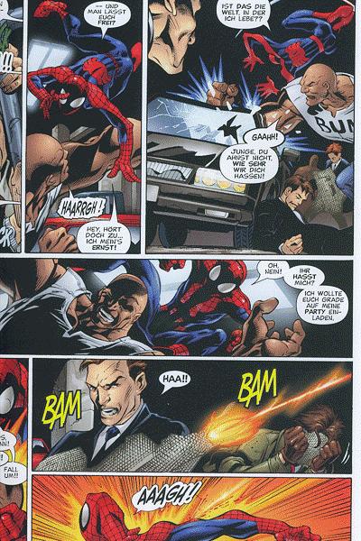 Leseprobe von Der ultimative Spider-Man, Sammelband 8 - Könige & Katzen