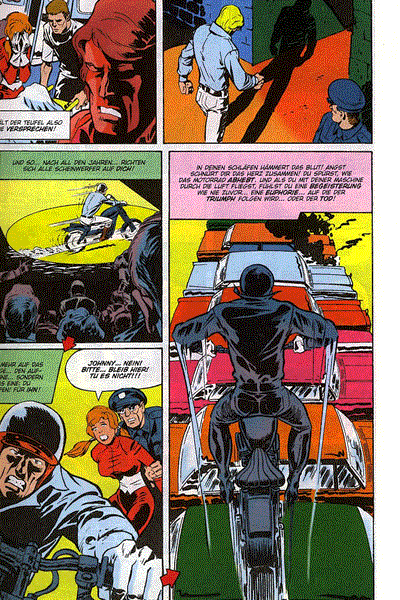Leseprobe von Ghost Rider, Marvel Horror 1 - Ghost Rider, Die H�llenreiter, . . .