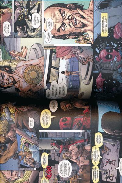 Erste Leseprobe von DEADPOOLS GREATEST HITS, Einzelband - Die Deadpool Anthologie