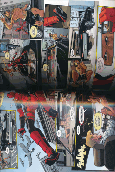 Leseprobe von MARVEL NOW! PAPERBACK: DEADPOOL lim. HARDCOVER, Band 2 - Der Seelenjäger