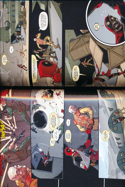 Leseprobe 1 von MARVEL NOW! PAPERBACK: DEADPOOL lim. HARDCOVER, Band 8 - Der Tod von Deadpool