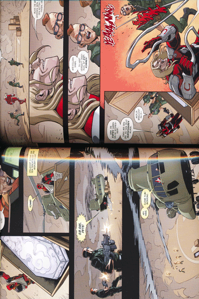 Leseprobe 2 von MARVEL NOW! PAPERBACK: DEADPOOL lim. HARDCOVER, Band 8 - Der Tod von Deadpool