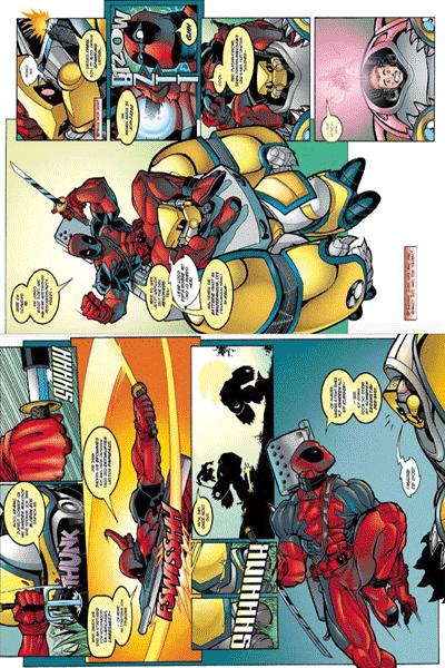 Leseprobe 1 von DEADPOOL: KILLER-KOLLEKTION lim. HARDCOVER, Band 2 - Hey, hier ist Deadpool!