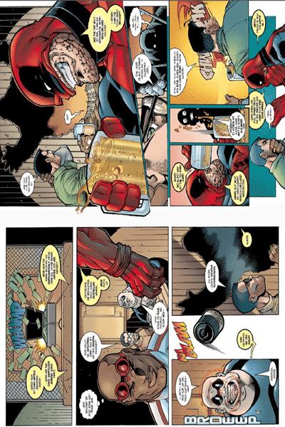 Leseprobe 2 von DEADPOOL: KILLER-KOLLEKTION lim. HARDCOVER, Band 2 - Hey, hier ist Deadpool!