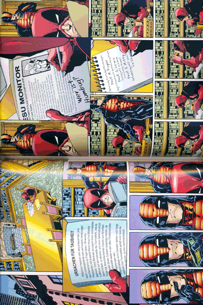 Leseprobe 1 von DEADPOOL: KILLER-KOLLEKTION lim. HARDCOVER, Band 10 - Krawall im All