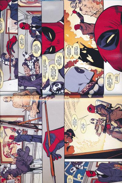 Leseprobe 2 von Deadpool Special, Band 4 - Axis