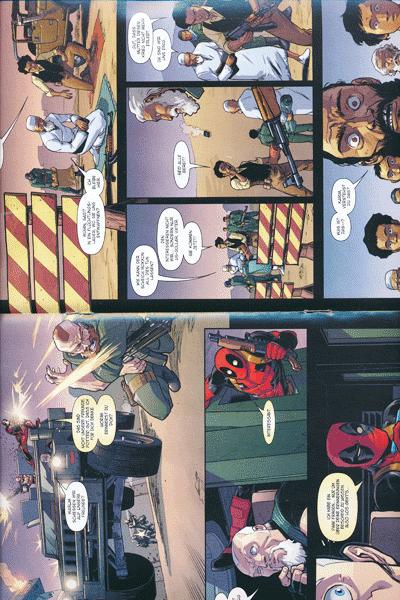 Zweite Leseprobe von Deadpool Special, Band 5 - Der Vollstrecker
