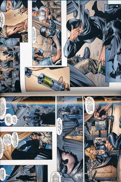 Leseprobe 1 von Marvel Knights - BLACK WIDOW, Schwarze Witwe lim. Hardcover, Einzelband - Tödliche Schwestern