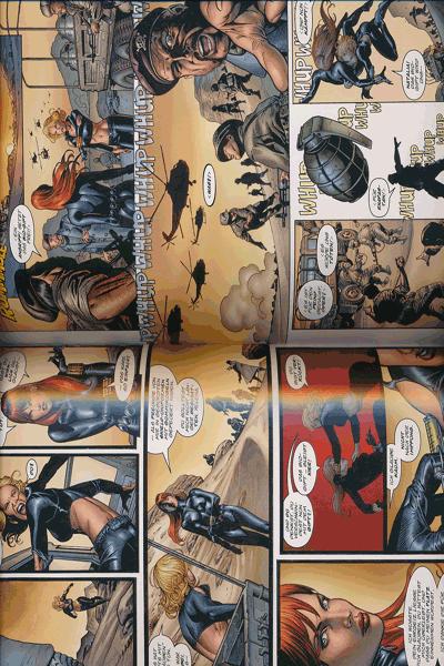 Leseprobe 2 von Marvel Knights - BLACK WIDOW, Schwarze Witwe lim. Hardcover, Einzelband - Tödliche Schwestern