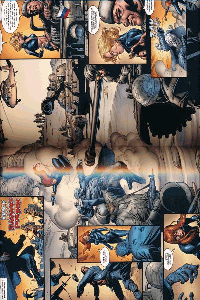 Leseprobe 4 von Marvel Knights - BLACK WIDOW, Schwarze Witwe lim. Hardcover, Einzelband - Tödliche Schwestern