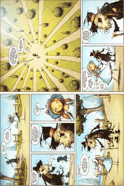 Leseprobe 1 von Der Zauberer von OZ, Band 5 - Die Strasse nach Oz