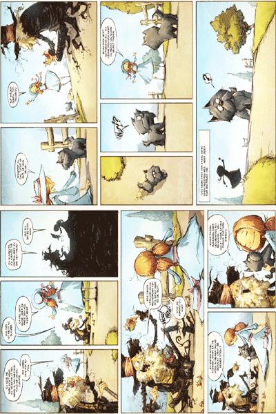 Leseprobe 2 von Der Zauberer von OZ, Band 5 - Die Strasse nach Oz