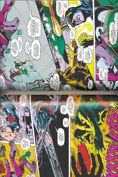 Leseprobe 1 von MARVEL KLASSIKER: X-MEN lim. Hardcover, Einzelband - Die X-Men im Kampf gegen den mächtigen Magneto
