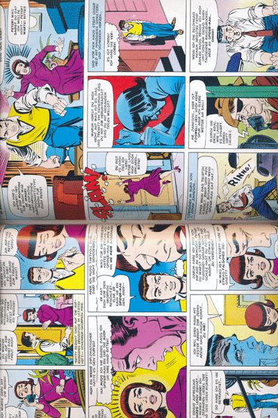 Leseprobe 1 von MARVEL KLASSIKER: SPIDER-MAN lim. Hardcover, Einzelband -