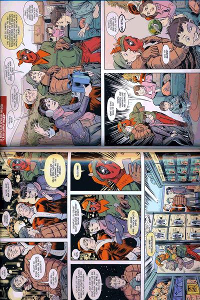 Erste Leseprobe von Weihnachten mit den Marvel Superhelden, Einzelband -