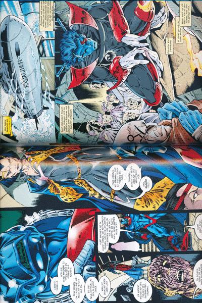 Zweite Leseprobe von X-MEN | APOCALYPSE lim. Hardcover, Band 1 - Zeit der Apokalypse